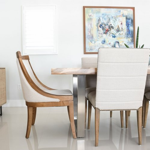 Coral Gables, Miami, Brickell, Dining room design.