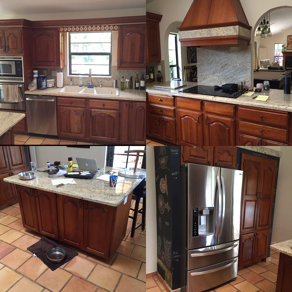 Medium image of a 90 u0027s kitchen makeover