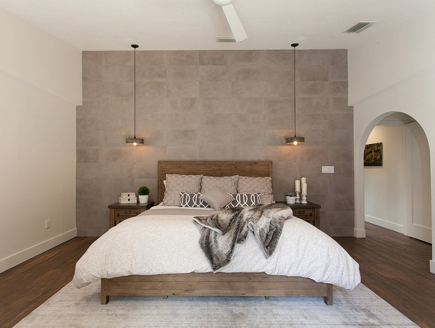 Darla-Powell-Interiors_Miami-FL_The-Truth-Behind-Design-Project-Timelines-Revealed_Industrial-Neutral-Bedroom-with-Arched-Doorway