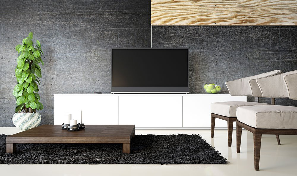 what is the proper tv height. Black Bedroom Furniture Sets. Home Design Ideas